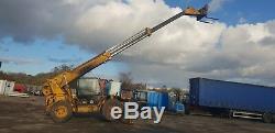 JCB 530 120 Telehandler Teleporter Forklift Loader 12m Reach Front Legs NO VAT
