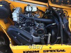 JCB 530-70 Farm special 120hp £12,750 plus vat = £15,300 telehandler, teleporter