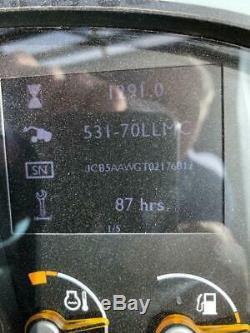 JCB 531-70 turbo Loadall / Telehandler 1291 hours
