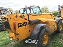 JCB 532 Loader Tele-handler 2002 Road Legal