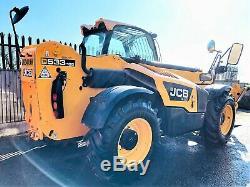 JCB 533-105 Telehandler / Loadall (2014) (£27900 + Vat) TELE-0156