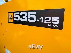 JCB 535-125 Hi Viz Telehandler / Loadall (2014) (£24900 + Vat) TELE-0206