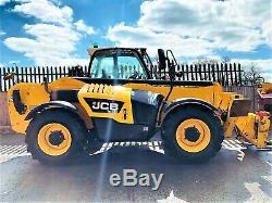 JCB 535-125 Hi-Viz Telehandler / Loadall (2014) (£27900 + Vat) TELE-0159