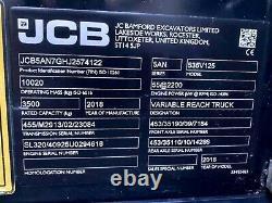 JCB 535-125 Hi Viz Telehandler / Loadall (2018) (£34900 + Vat) TELE-0238