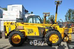 JCB 535-125 year 2005 3.5t 12.5m Telehandler STABILISERS £16250+VAT