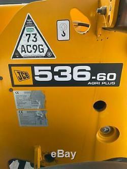 JCB 536.60 Agri Plus Telehandler 2011