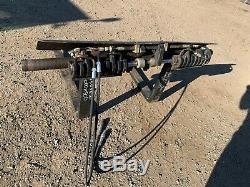 JCB 540 telehandler side shift fork carriage