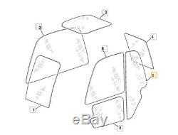 JCB Forklift Glass Telehandler lower door glazing series 2 machines (options)
