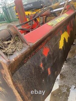 JCB LOADALL Mchale Silage Fork Shear Grab Heavy Duty Telehandler