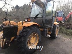 JCB Loadall 532-120 Telehandler Forklift Only 7172 Hours