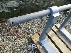 JCB PALLET FORKS 1340 x 57mm PIN / BAR LOADER TELEHANDLER LOADALL Q FIT CARRIAGE