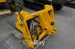 JCB Q-Fit Hydraulic Headstock Carriage Telehandler (inc VAT)