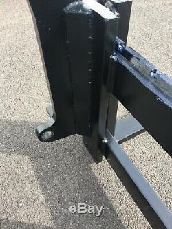 JCB Q-Fit pallet forks & frame(telehandler, teleporter)£750+vat = £900