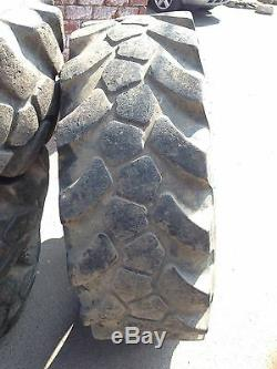 JCB Sitemaster 15.5-25 L2 MPT Loader/Telehandler/Grader Tyres X4