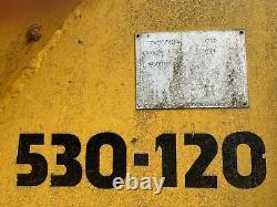 JCB TELEHANDLER 530-120 4x4 NEW TYRES, STARTER MOTOR, IGNITION BARREL, BATTERY