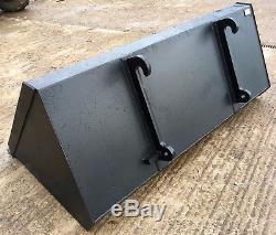 JCB TELEHANDLER / LOADALL / FORKLIFT BUCKET, QFIT BRACKETS, tractor bucket