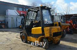 JCB TELETRUK TLT 25D year 2005 2.5t Teletruck Telehandler Forklift £7600+VAT