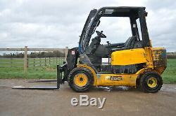 JCB TELETRUK TLT25D y2007 tlt Teletruck 2.5t Telehandler Forklift £7600+VAT