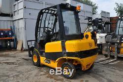 JCB TELETRUK TLT25D y2008 tlt Teletruck 2.5t Telehandler Forklift £8900+VAT