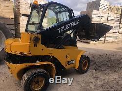 JCB TELETRUK TLT30D 4x4 4WD year 2006 Teletruck Telehandler Forklift £16,500
