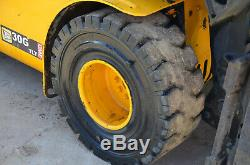 JCB TELETRUK TLT30G y2012 LPG Teletruck Telehandler Forklift £9250+VAT