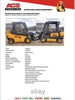 JCB TLT25D Diesel Teletruk Hire-£74.99pw Buy-£10995 HP-£54.91pw With VAT Deposit
