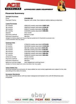 JCB TLT30D 4x4 4WD Teletruk Hire-£84.99pw Buy-£19,995 HP-£99.85pw VAT Deposit