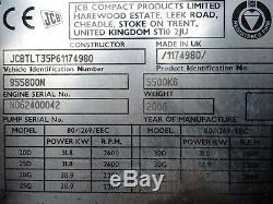 JCB TLT35D. 4000mm LIFT. USED TELETRUK, TELETRUCK (#2351)