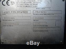 JCB TLT35D. 4X4.4000mm LIFT. USED TELETRUK, TELETRUCK, TELEHANDLER (#2218)