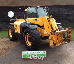 JCB Telehandler 536-60 Agri Super 2008 farm Forklift Tractor 130 Hp