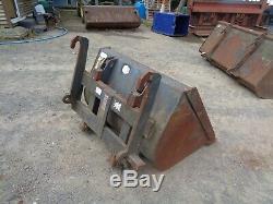 JCB Telehandler Bucket Plus Forklift Brackets 4ft Wide £395+vat
