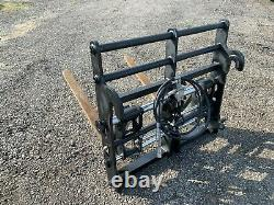 JCB Telehandler. Fork Positioner carriage