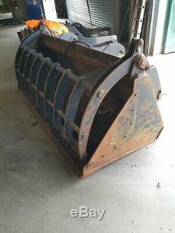 JCB Telehandler, Grab Bucket, Digger, Tractor, recycling, farm £1500+VAT