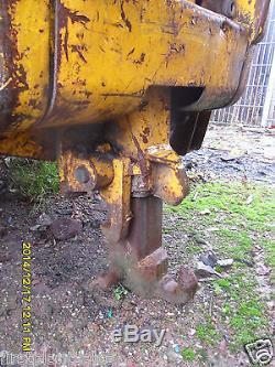 JCB Telehandler Hydraulic Pick-up Hitch