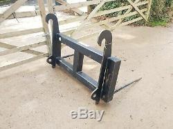 JCB Telehandler Loadall Bale Spike for silaege hay straw etc. £250+vat