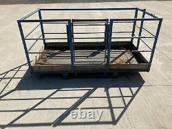 JCB Telehandler Man Basket JCB BracketsRoofing, Repairs, Man Basket, Safety First