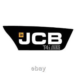 JCB Telehandler Side Engine Cover T4 Decal