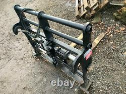 JCB Telehandler carriage, hydraulic fork positioner