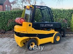 JCB Teletruk Gas 3 Tonne Telehandler For sale TLT30G 8155hours