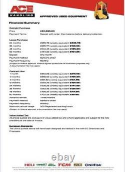 JCB Teletruk TLT35D 4x4 Hire £99.99pw Buy £20,995.00 or £104.85 No Deposit