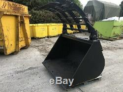 JCB Teletruk Telehandler Grab Bucket Digger Recycling