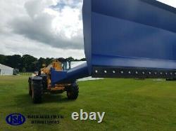 JSA Grain Pusher with full width rubber strip JCB Q-Fit Manitou Telehandler 3.5m
