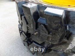 Jcb 5 Stud X4 Shun Gin Semi Solid Wheels 13.00 24 To Fit Jcb 531-70 / 535-95
