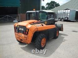 Jcb 515-40th 4wd Yr2010 Low Hrs Used Diesel Rough Terrain Teletruk Ref Fto7095