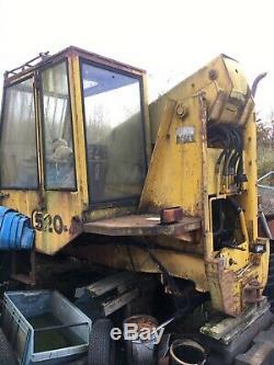 Jcb 520-4, Load all, telehandler, spares or repair