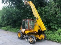 Jcb 520-4 Loadall Telehandler / Forklift 4wd 4500 Hours bucket & Tines No vat