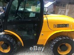 Jcb 520-40 Year 2007, Telehandler, Diesel, Great Working Machine