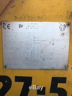 Jcb 527-58 telehandler farm special