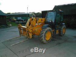 Jcb 530 70 Telehandler 7 Mtr Boom 4 Wheel Drive Loadall
