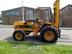 Jcb 926 Rough Terrain 4wd Forklift Telehandler Fork Lift Truck Tractor Export